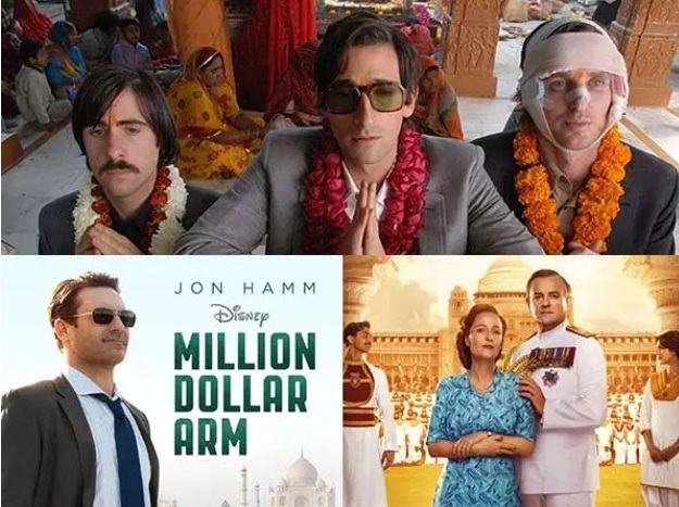 Popular Hollywood movies with an Indian Backdrop