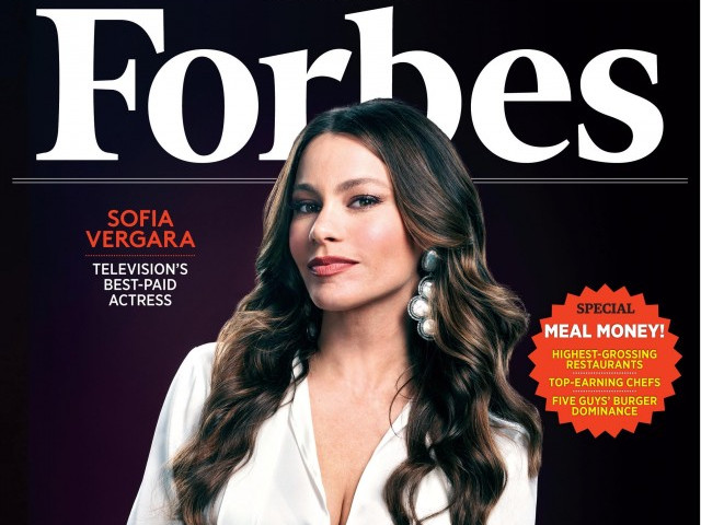 Forbes' Highest Paid Actress Of 2020 is Sofia Vergara