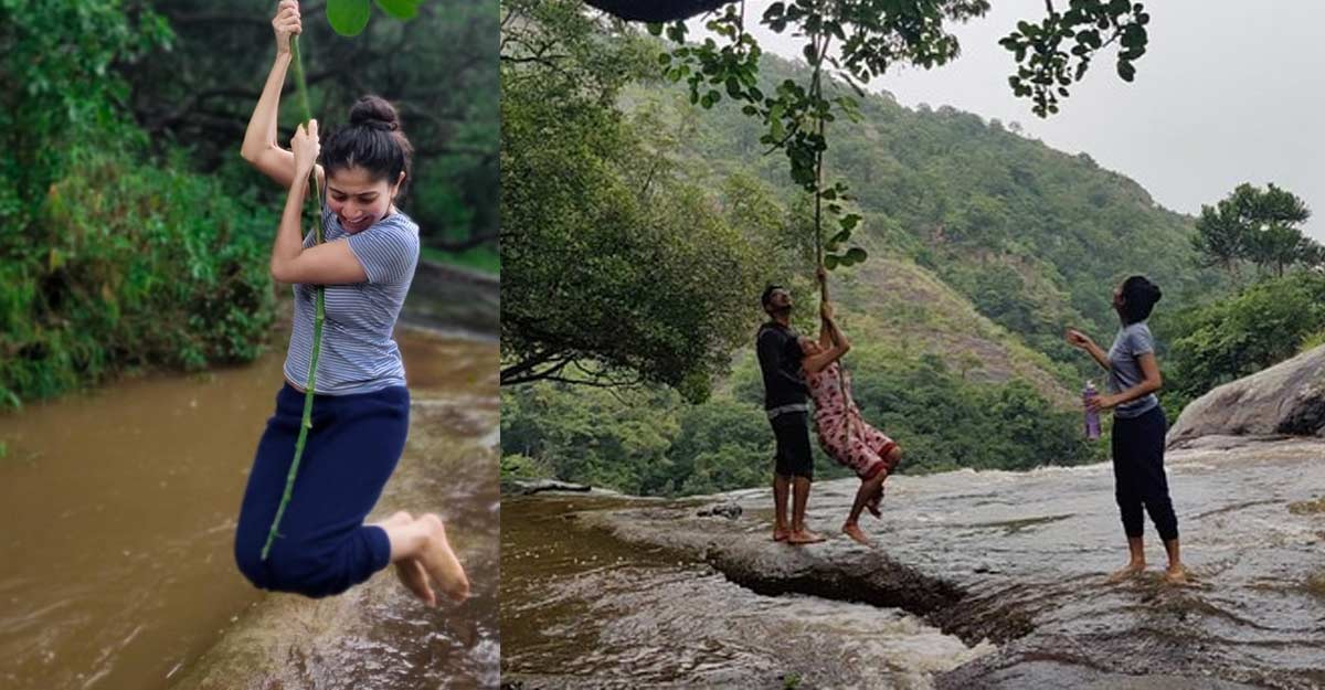 Sai Pallavi's quality time with nature